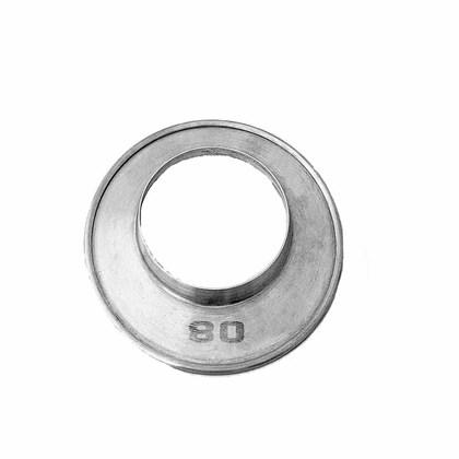 Aro de Arremate Alumínio 080 MM Aquecedor a Gás