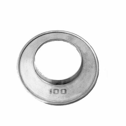 Aro de Arremate Alumínio 100 MM Aquecedor a Gás