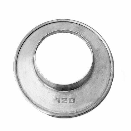 Aro de Arremate Alumínio 120 MM Aquecedor a Gás