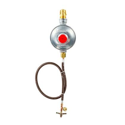 Central De Gás 1 P13 1,0 mt + Regulador Jackwal 5 Kg