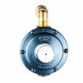 Central De Gás 1 P13 50 cm + Regulador Aliança 7 Kg/h Azul