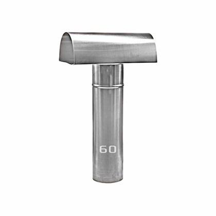 Chapéu Tee Ventilante Alumínio 060 MM para Aquecedor a Gás