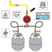 Conector para Gás Fêmea DN 16x2 mm Multicamada Emmeti Pex