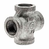 Cruzeta Galvanizada 1/2 Npt Tupy Ferro Maleável