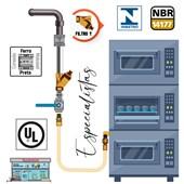 Filtro de Gás Comap 1 NPT 75 micra