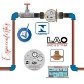 Hidrômetro De ÁGua Lao Unijato Magnético ¾ 2,5m³