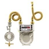 Kit Medidor de Gás G-1 + Regulador 5 Kg/h