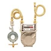 Kit Medidor de Gás G-1 + Regulador 7 Kg/h
