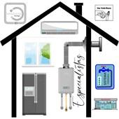 Mangueira de Água Flexivel Quente e Fria 3/4x1/2 Cromada