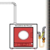 """Mangueira de Gás 3/4"""" Tomback - 2,00 Metros"""