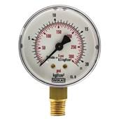 Manômetro De Gás 0 A 21 Kg 300 Psi 62 MM