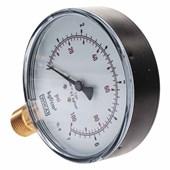 Manômetro De Gás Wika 1/2 0 A 07 Kg 100 Psi 100 MM
