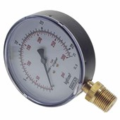 Manômetro de Gás WIKA 1/2 0 a 21 kg 300 PSI 100 mm