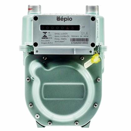 Medidor De Gas Aepio G1.6 + Conexão 3/8 Sae