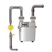 Medidor de Gás LAO GLP G-6 de Grande Capacidade