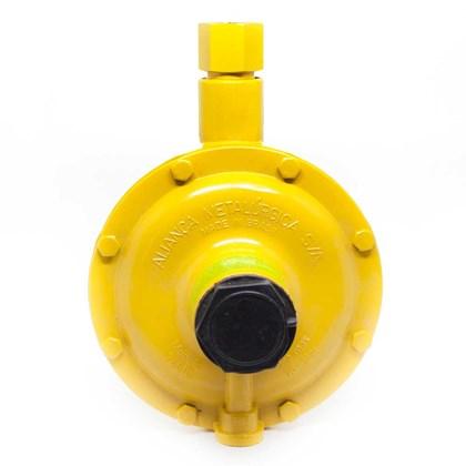 Regulador De Gás Aliança Glp 76510/00 50 Kg/h Amarelo