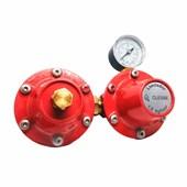 Regulador de Gás + Limitador AP40 60 Kg/h c/manômetro