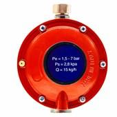 Regulador de Gás Mondial 15 kg/h Baixa Pressão