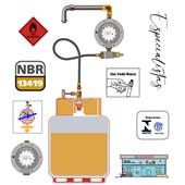 """Regulador de Gás Mondial 5 kg/h 1/8""""x3/8"""""""