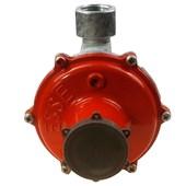 """Regulador Para Gás BP 2202 1/2"""" NPT GN Fêmea Baixa Pressão Vermelho"""